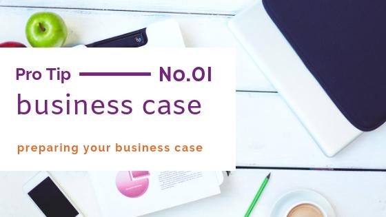 preparing a business case
