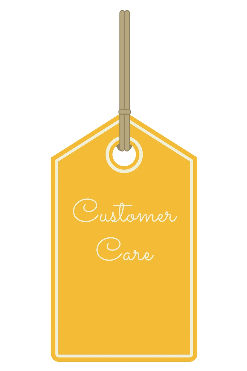 Customer Care Label