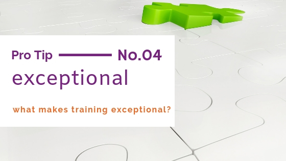 exceptional customer service training