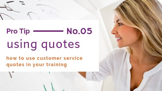 customer service quotes