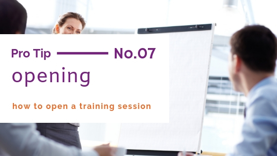 customer service training tips opening