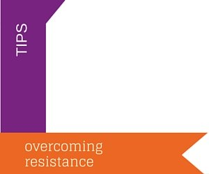 Overcoming resistance in the training room
